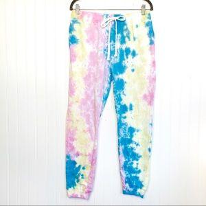 Southern Spirit Tie Dye Large Jogger Sweatpants